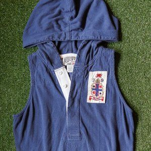 Rugby by Ralph Lauren Varsity Hooded Rugby